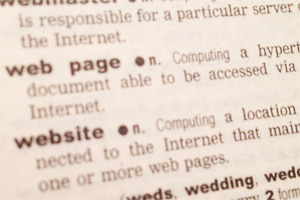 Web terminology, slang, and definitions