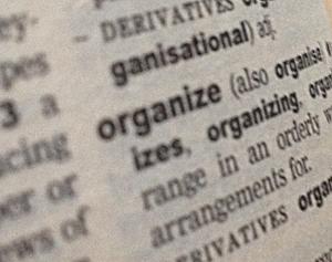 Organize passwords, definition